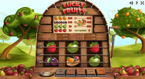 lucky fruits logo