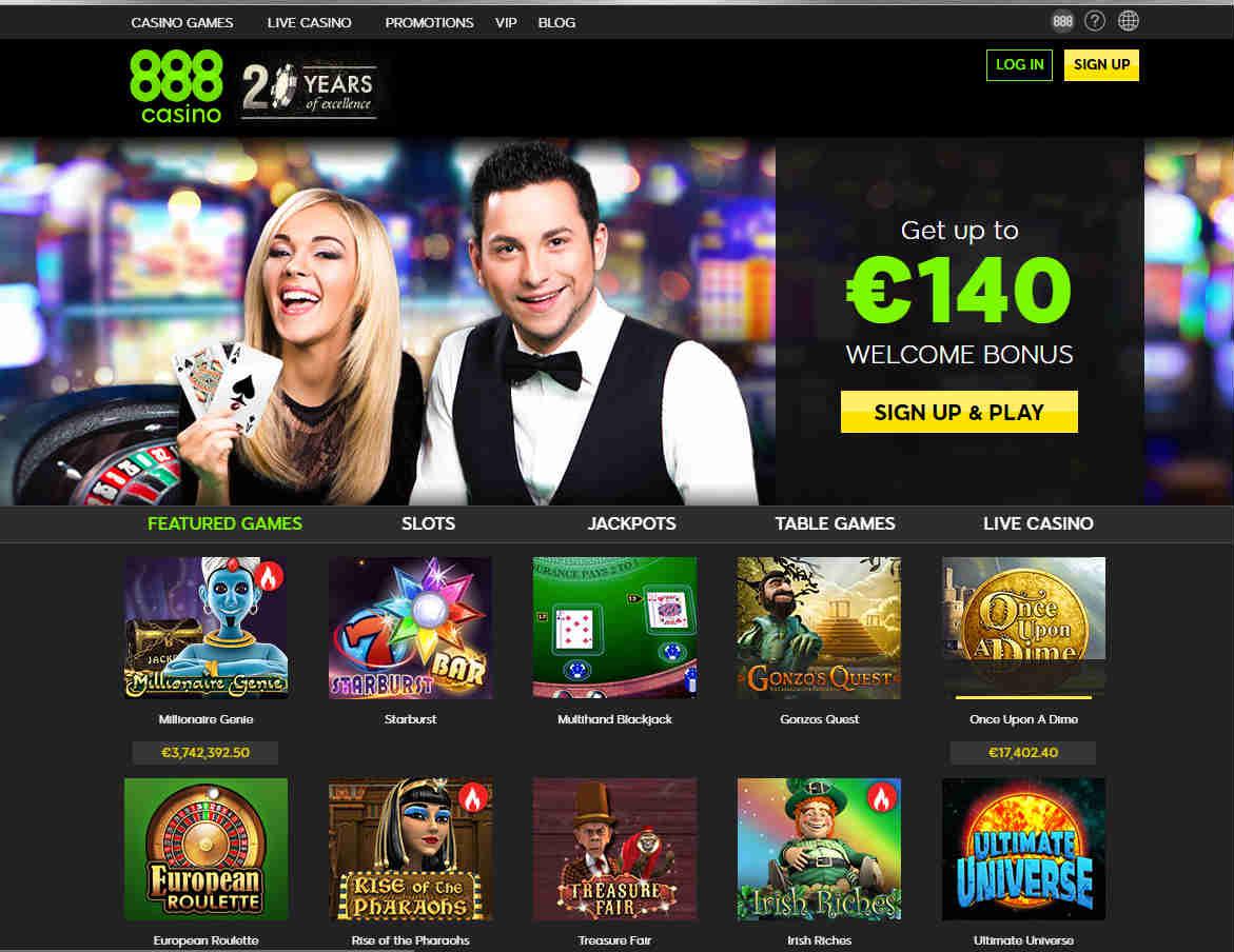 888 casino established