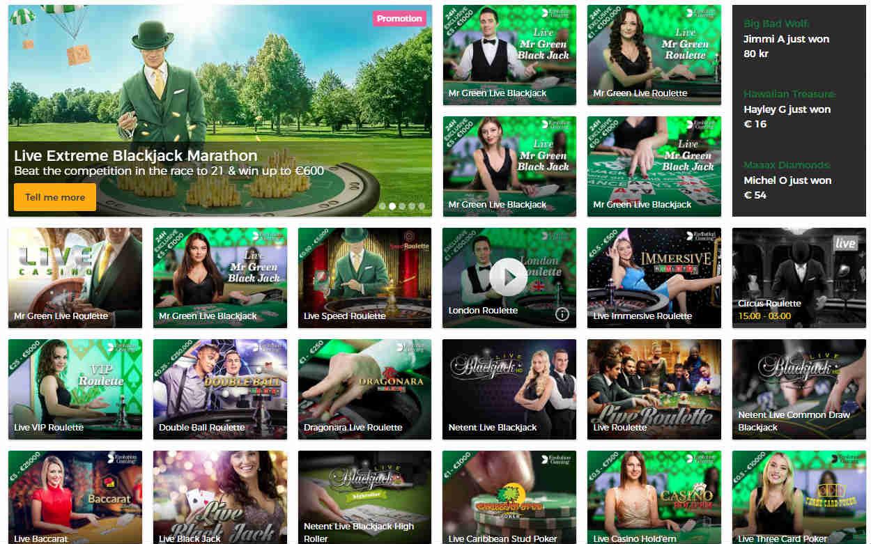 Blackjack Online – Spielen Sie Blackjack Online bei Mr Green