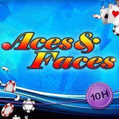 aces and faces 10 logo
