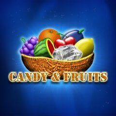 candy fruits logo