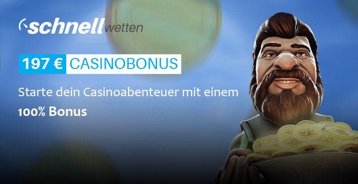 SchnellWetten Online Casino Echtgeld banner