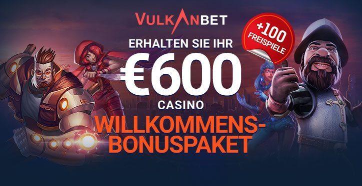 VulkanBet Online Casino mit Echtgeld