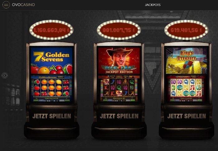 ovo casino screen