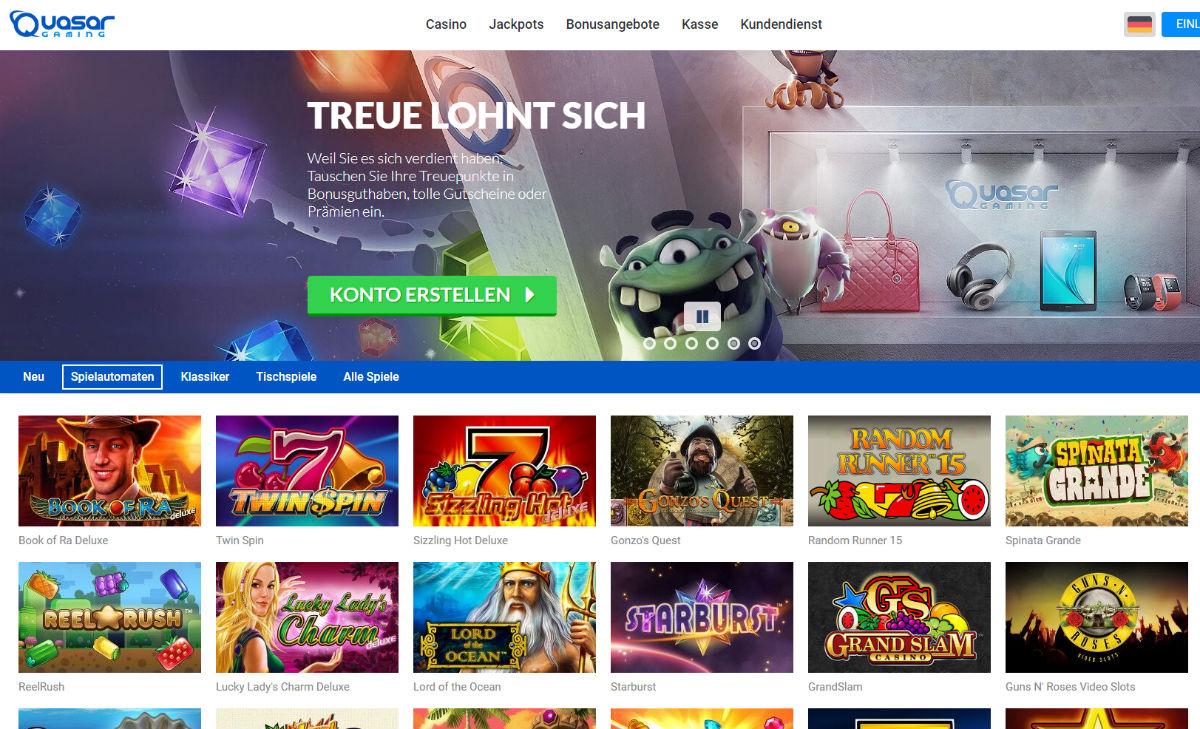 quasar gaming deutschland