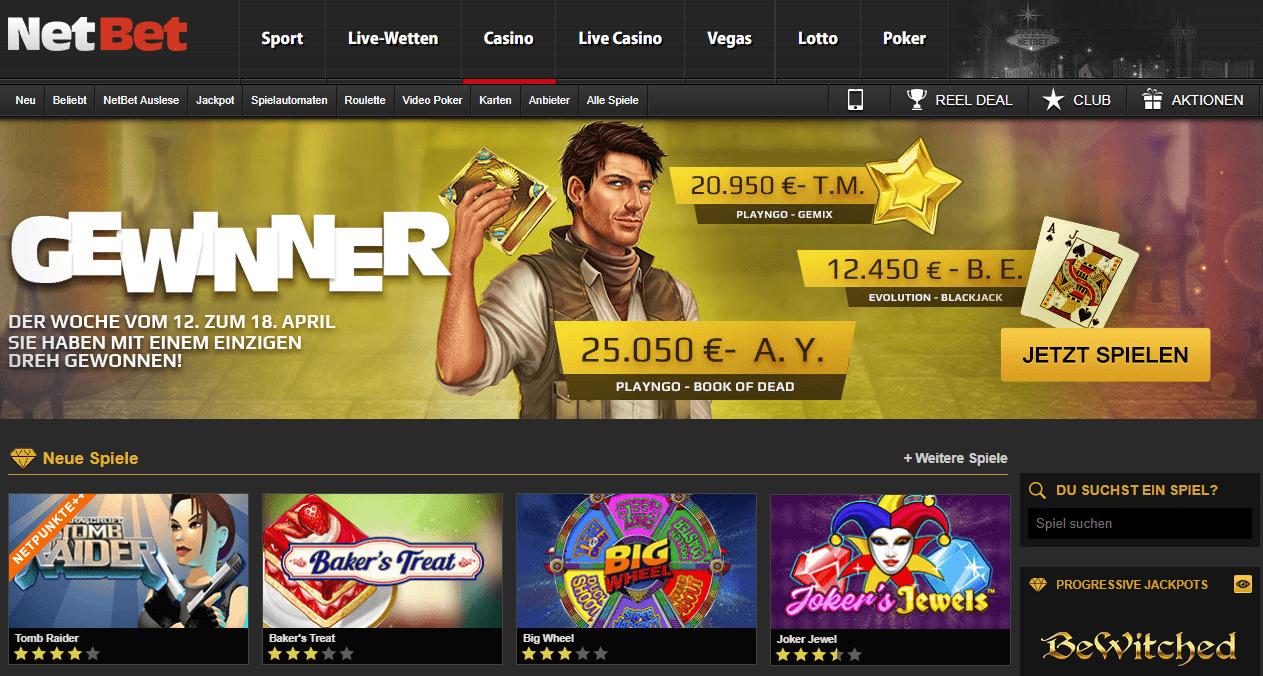 NetBet Casino 2018
