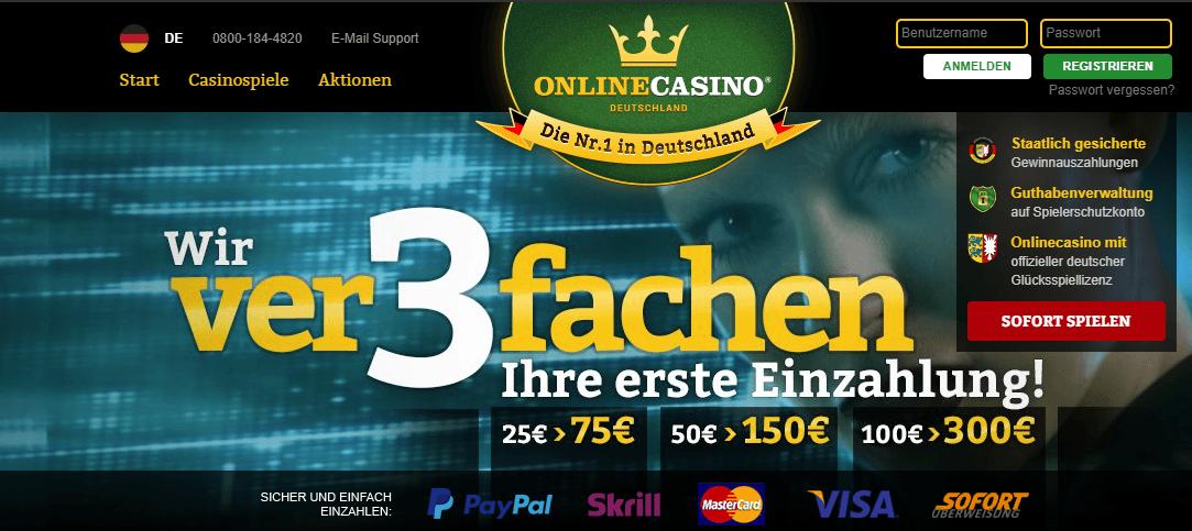 OnlineCasino Deutschland Legal2018