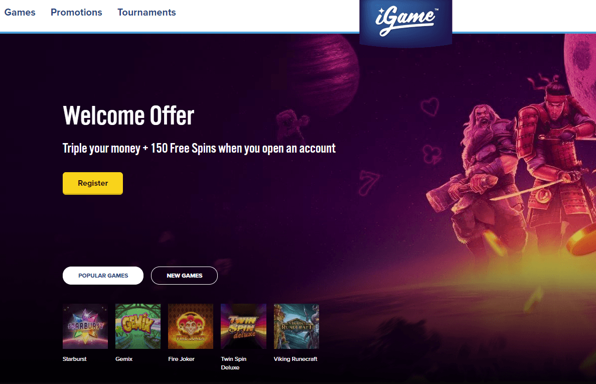 iGame image