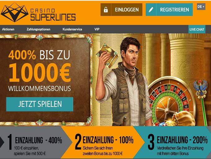 Casino Superlines online image