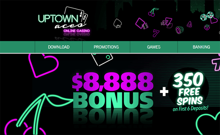 Uptown Aces Online Casino image