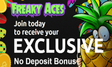 FreakyAces Casino Bewertung