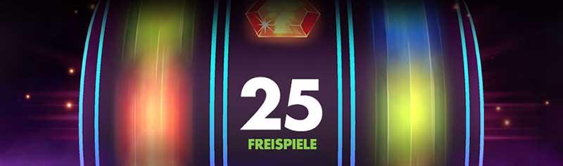 25Free Spins