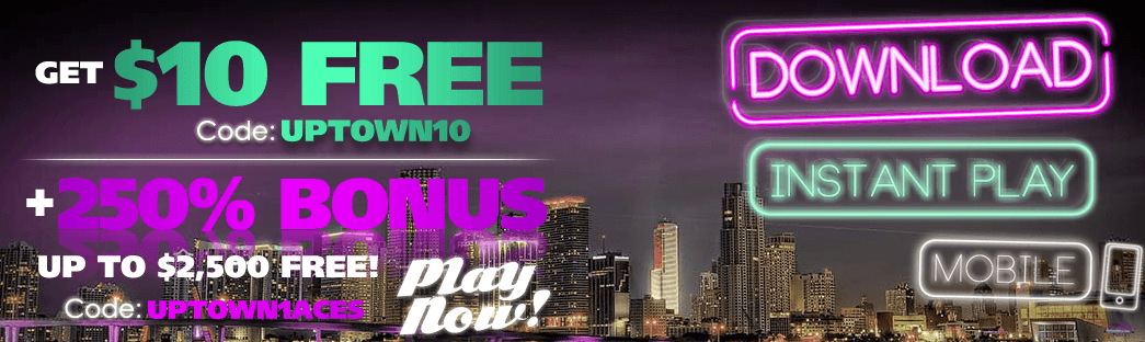 Free at Uptown Aces Casino
