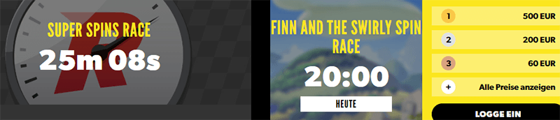 Rizk Race Online Casino