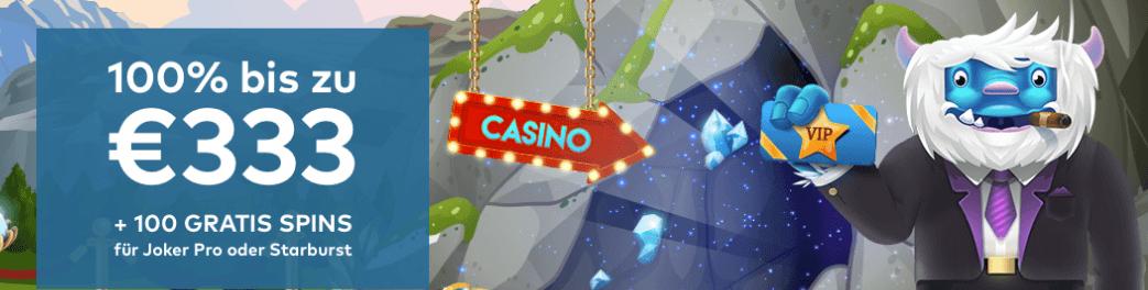 Das schärfste Online Casino Yeti