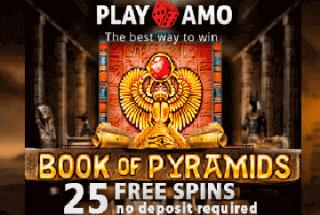 PlayAmo Casino – 25 Freispiele ohne Einzahlung!