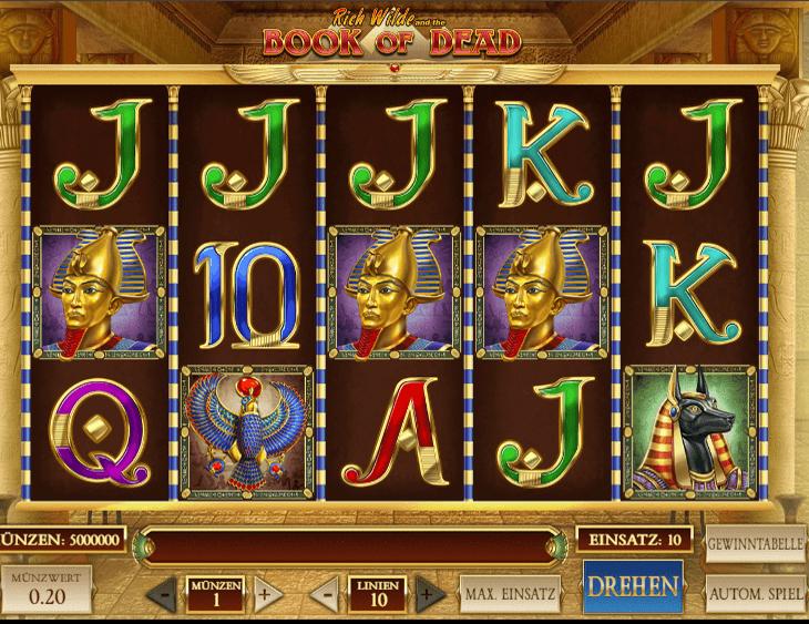 Book Of Dead Slot kostenlos spielen ohne Anmeldung