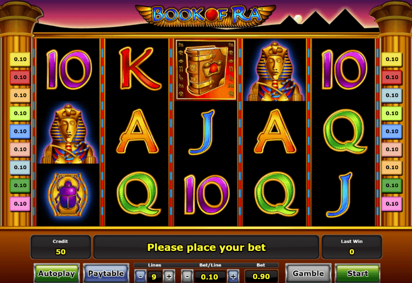 Book of Ra Slot Spielautomaten