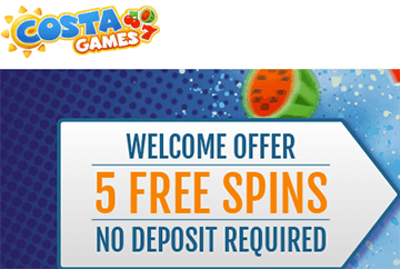 Costa Games Casino Free Spins