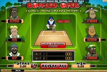Bowled Over Rubbellose Slot