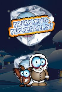 Freezing Fuzzballs Rubbellos Slot
