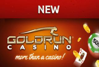 Im Goldrun Casino gibt es 2.5 € Startguthaben für neue Kunden bei Registrierung!