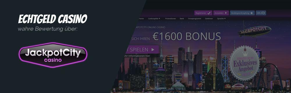 JackpotCity Online Casino Echtgeld Erfahrungen