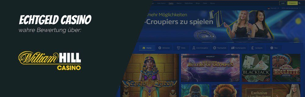 William Hill Casino Online Casino Echtgeld Erfahrungen